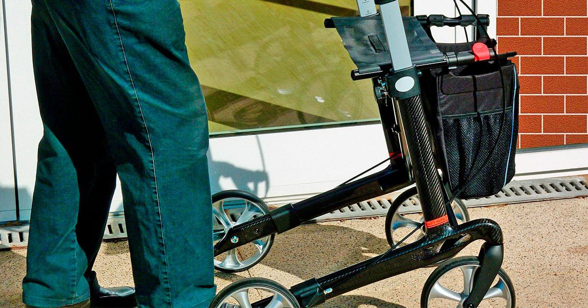 Caminador para personas mayores